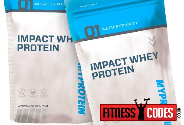 Myprotein Impact Whey Protein bags