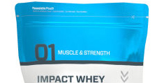 Iimpact whey supplement from Myprotein
