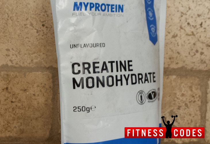 Myprotein Creatine Side View